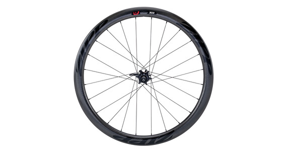 Zipp 303 Firecrest V3 Carbon Clincher HR 24 Loch black/black stickers